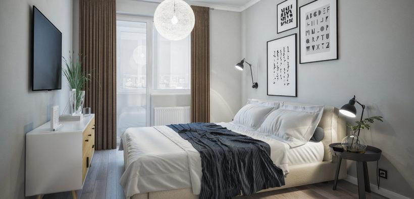 Ремонт спальни в хрущевке - базисные приемы 15 идей