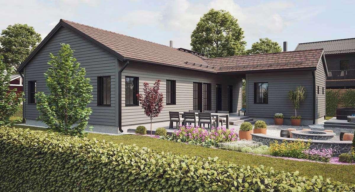 Угловые дома отличный выбор для проекта частного дома