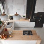 Переваги дизайну кухні-студії з перегородкою