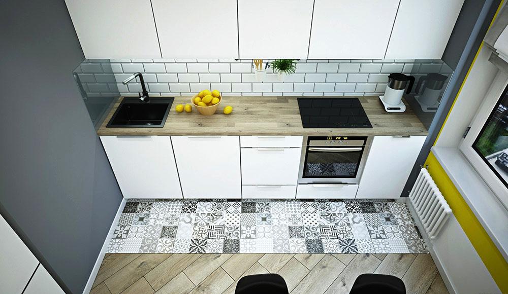 дизайн кухни 6 квадратных метров