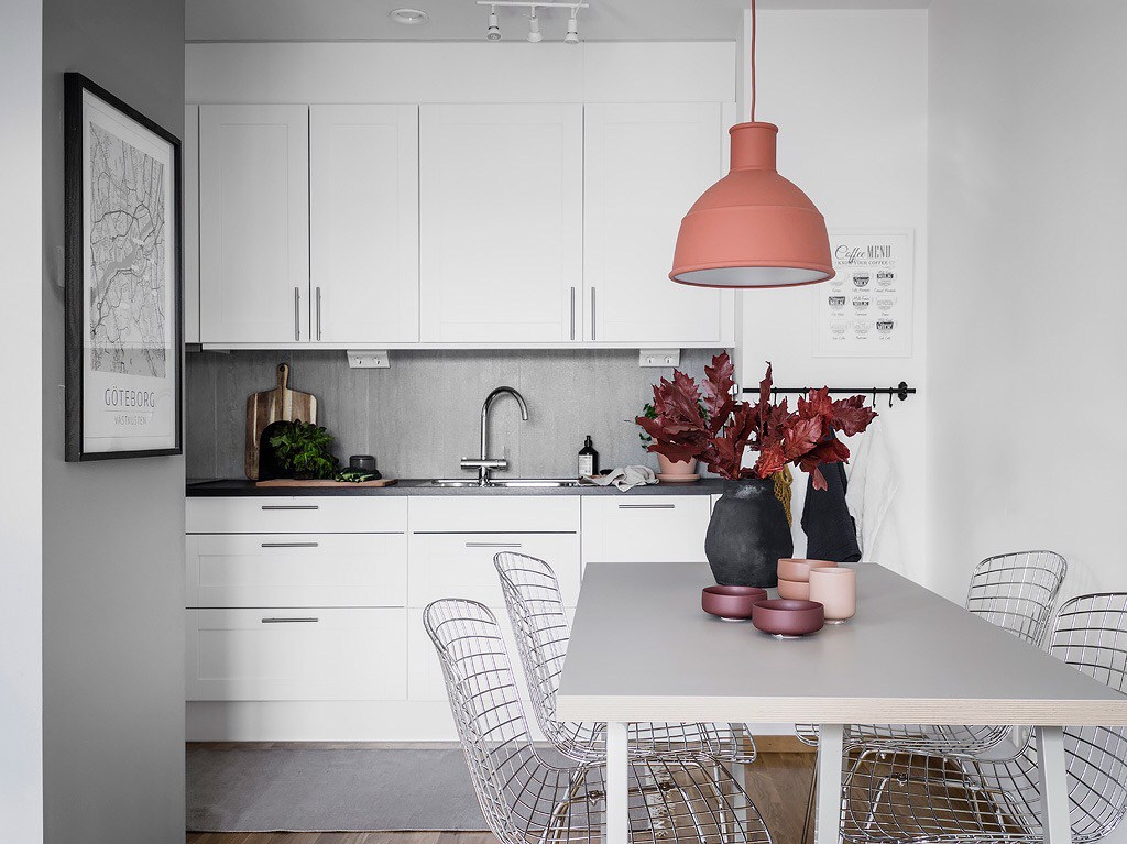 кухни студии в маленьких квартирах фото
