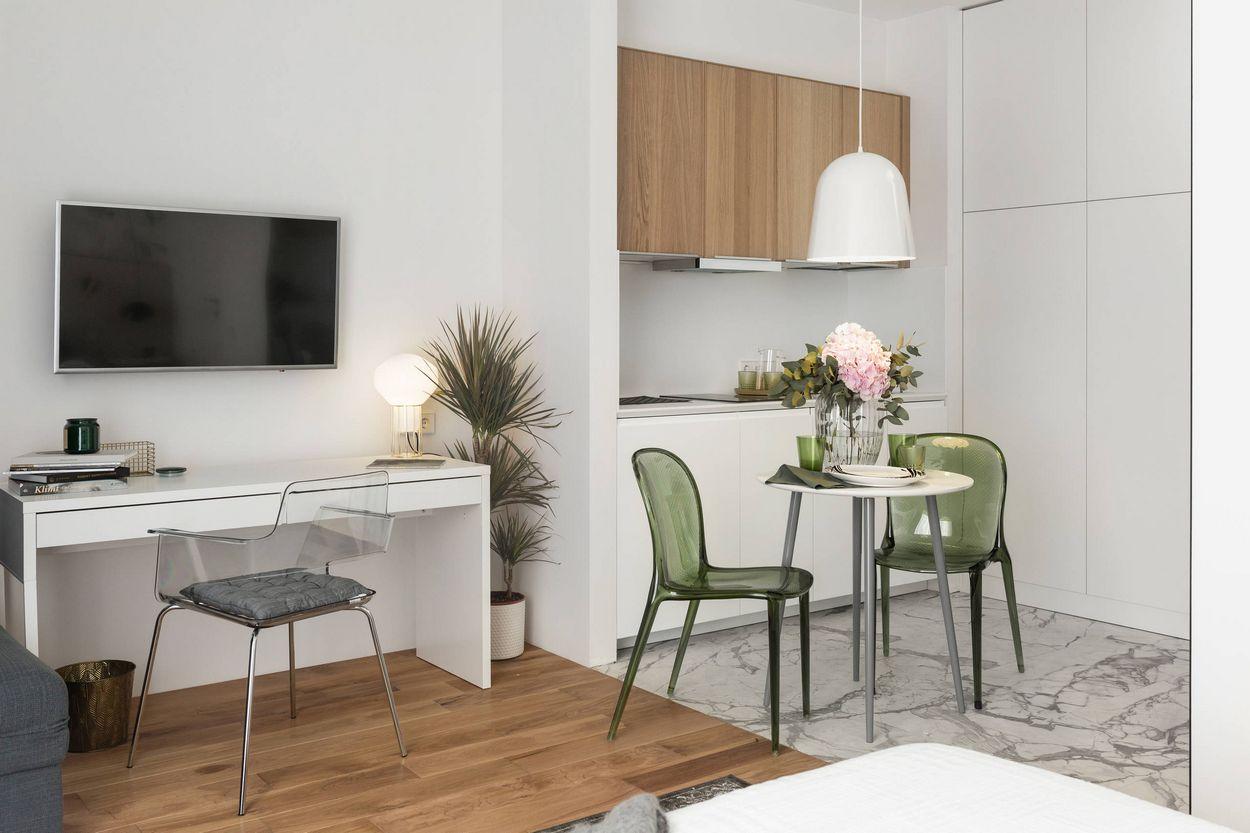дизайн 1 кімнатної квартири