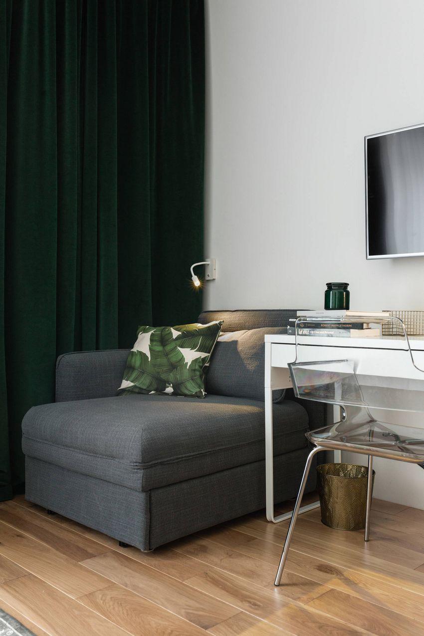 дизайн маленької однокімнатної квартири