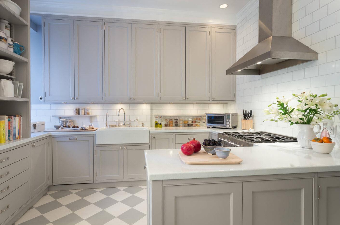 дизайн кухні сучасна класика