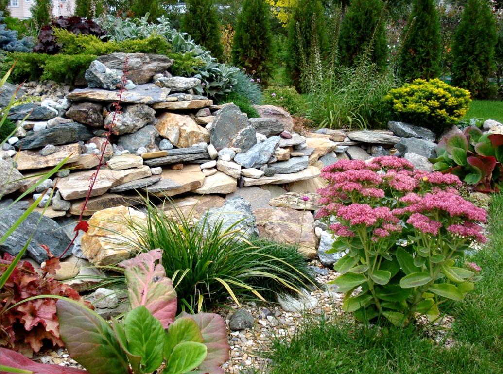 сад на дачі