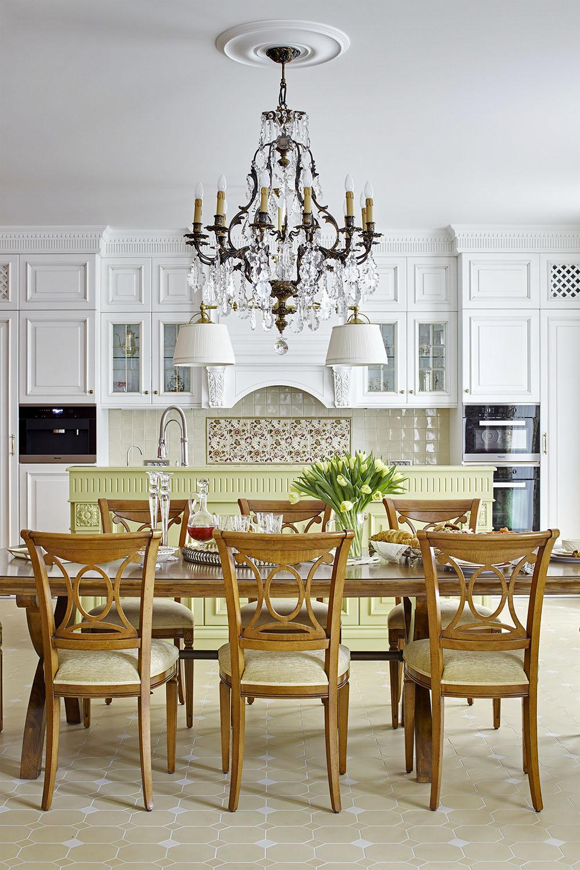 дизайн кухні в будинку