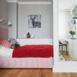 Особливості дизайну однокімнатної квартири з нішею