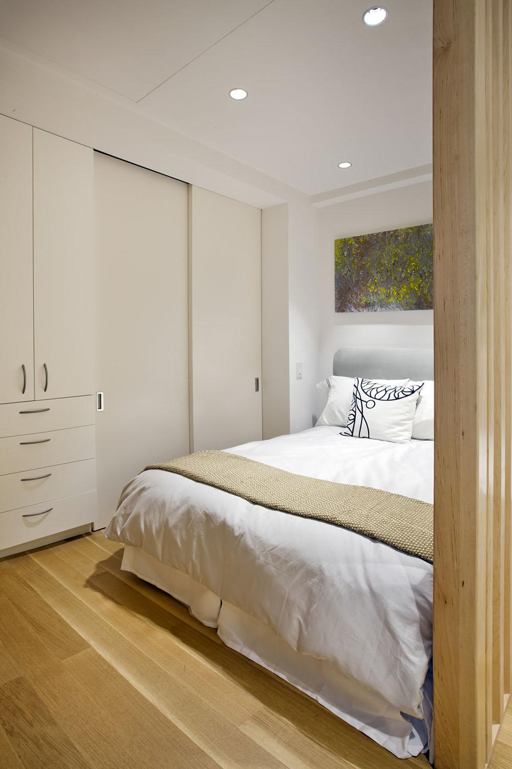 дизайн однокімнатної квартири з перегородкою