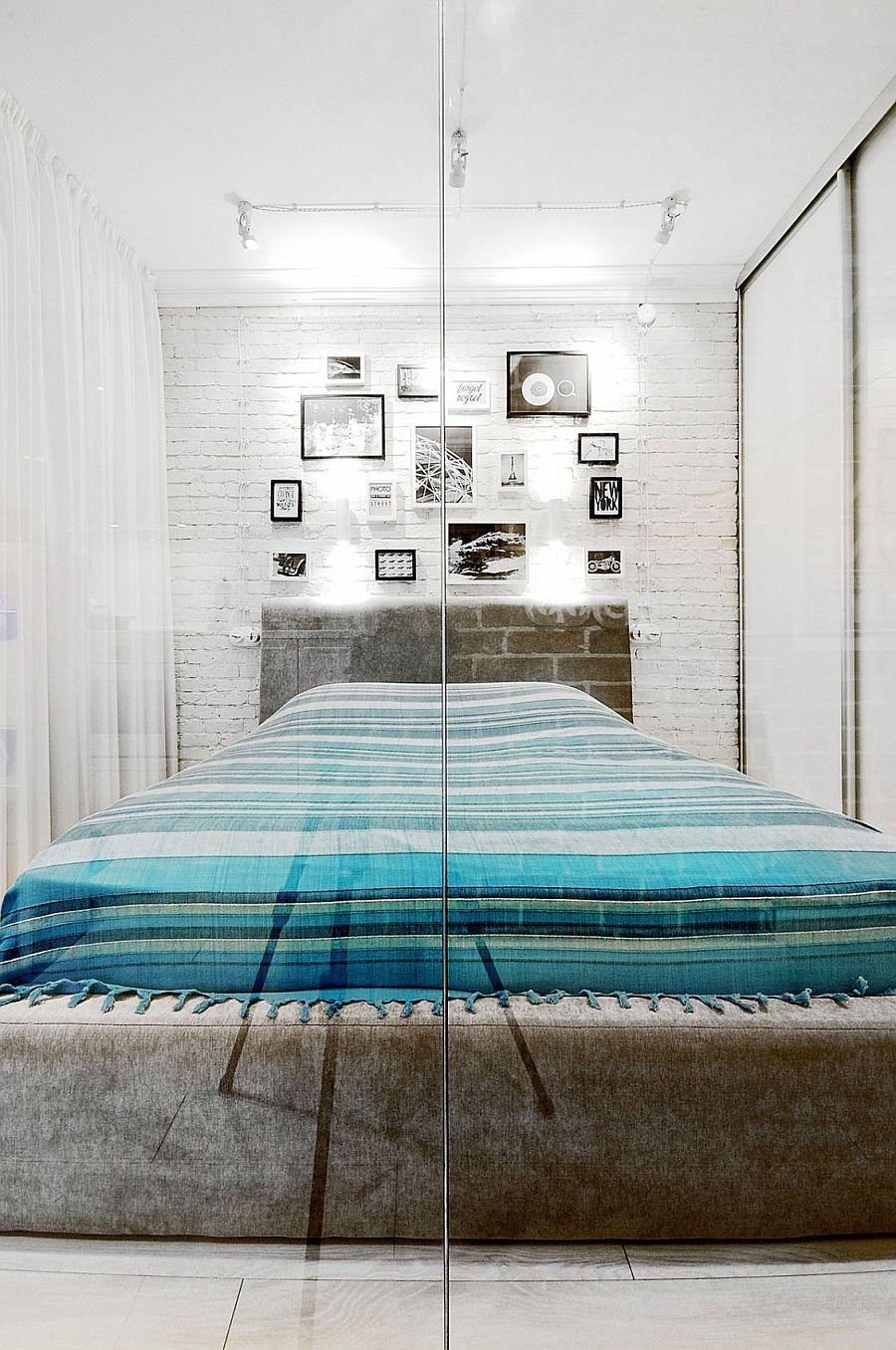 спальня в квартирі