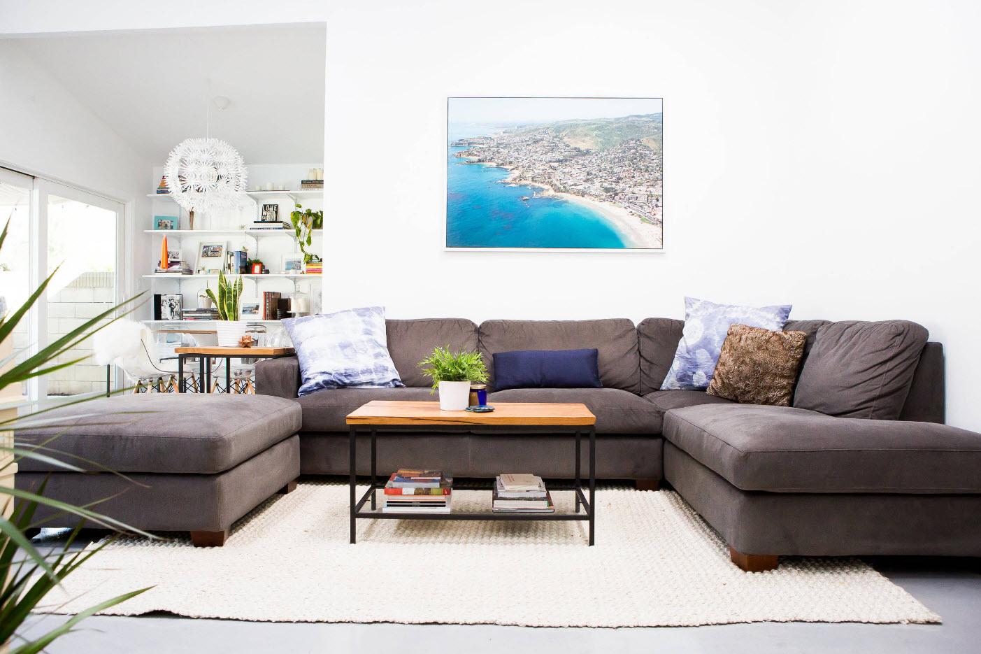 інтер'єр залу в квартирі фото