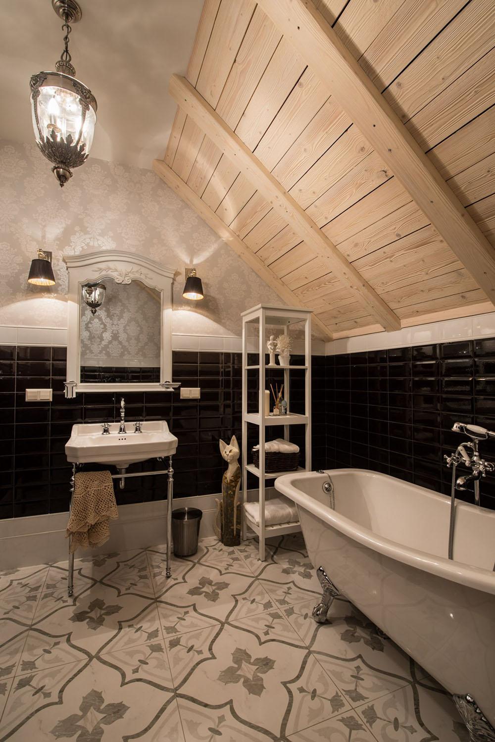 внутрішній дизайн дерев'яного будинку