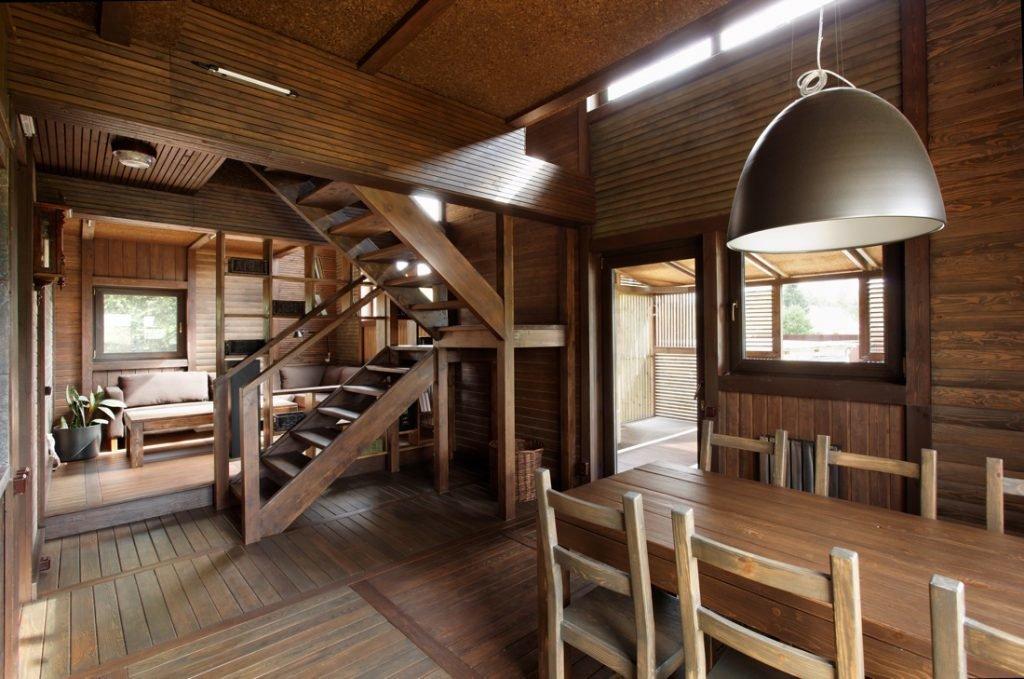 дизайн дачного будинку всередині