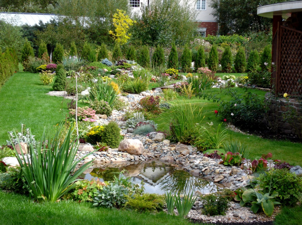 дизайн сада огорода своими руками