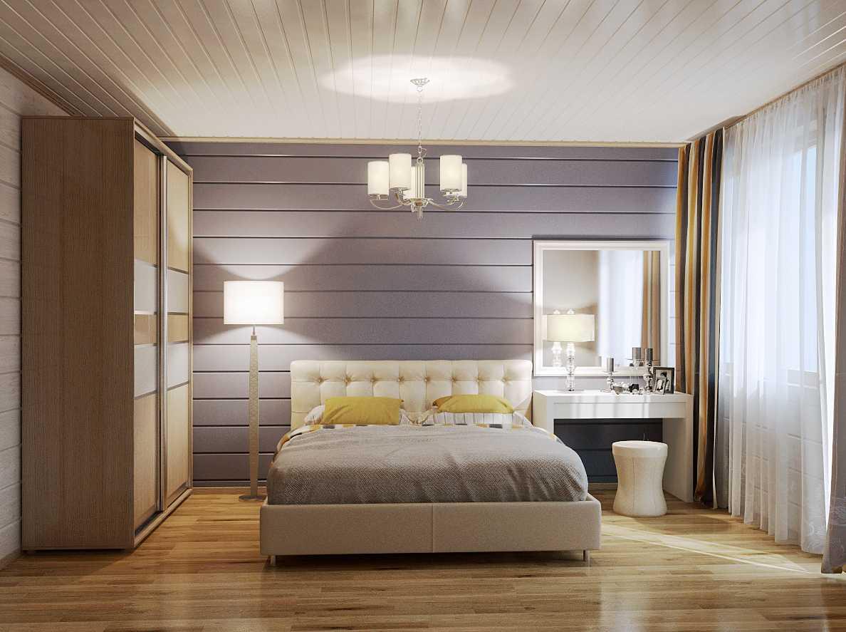 спальня в будинку
