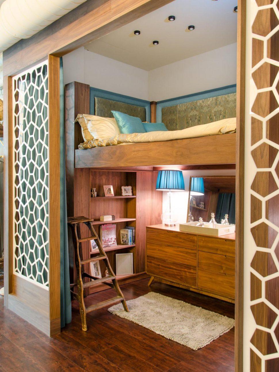 дизайн однокімнатної квартири з нішею