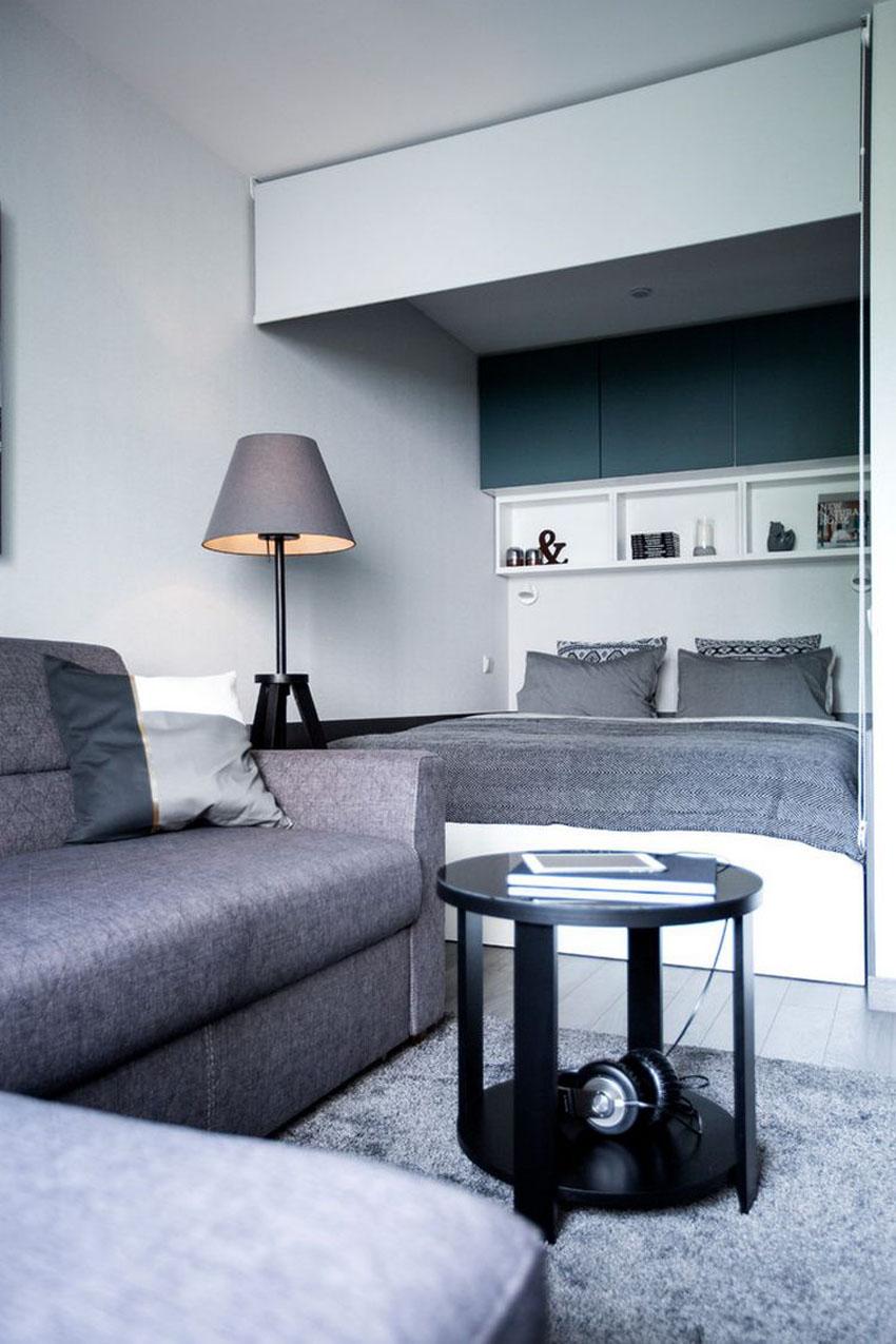 дизайн маленьких квартир студій