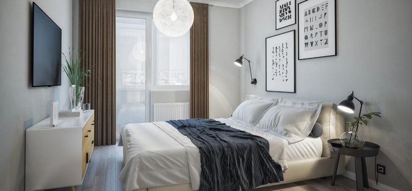 Ремонт спальни в хрущевке — базисные приемы 15 идей