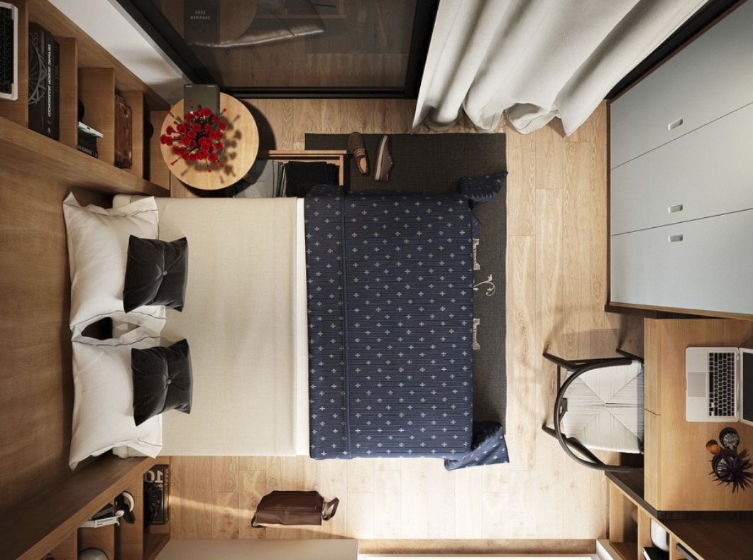 ремонт в маленькой спальне