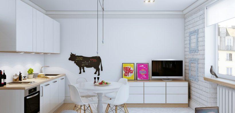 Дизайн маленьких квартир-студий - зонируем пространство
