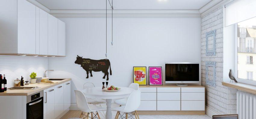 Дизайн маленьких квартир-студий — зонируем пространство