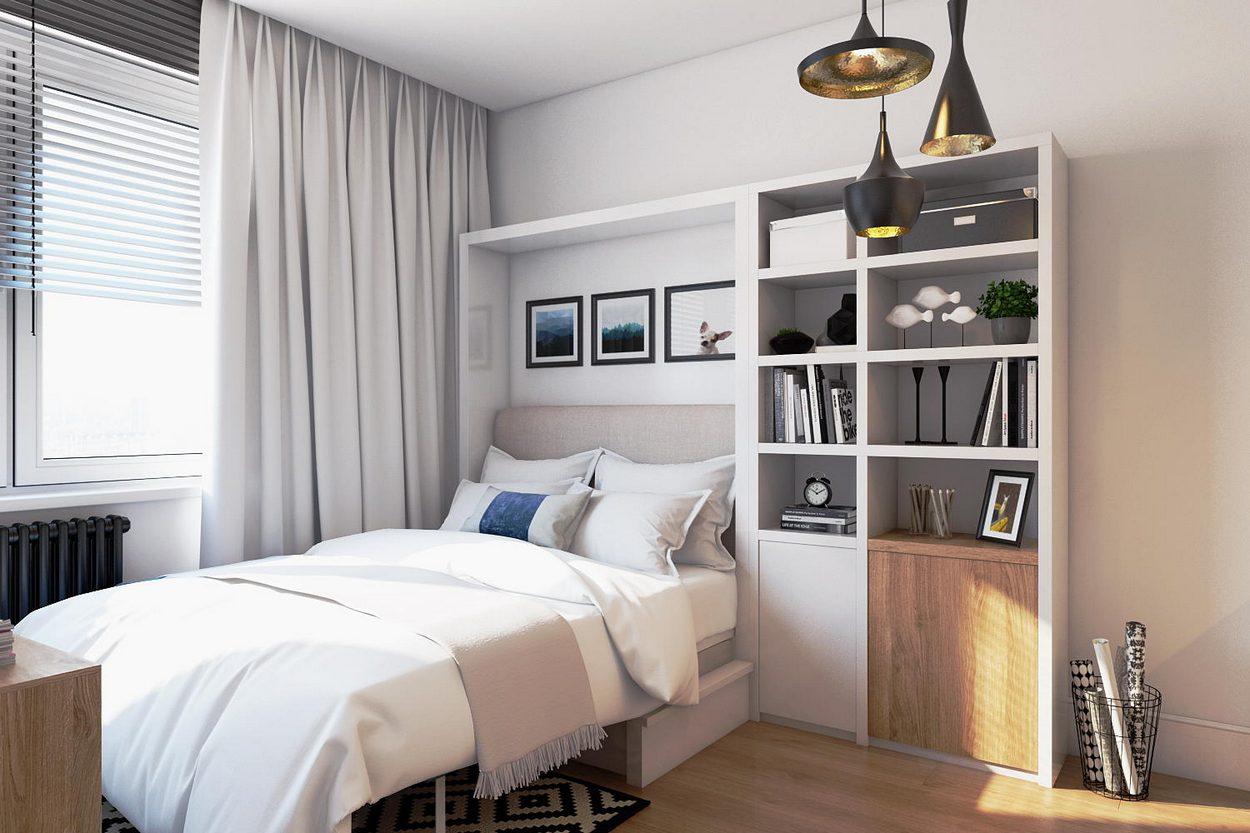 дизайн квартиры студии 40 кв м