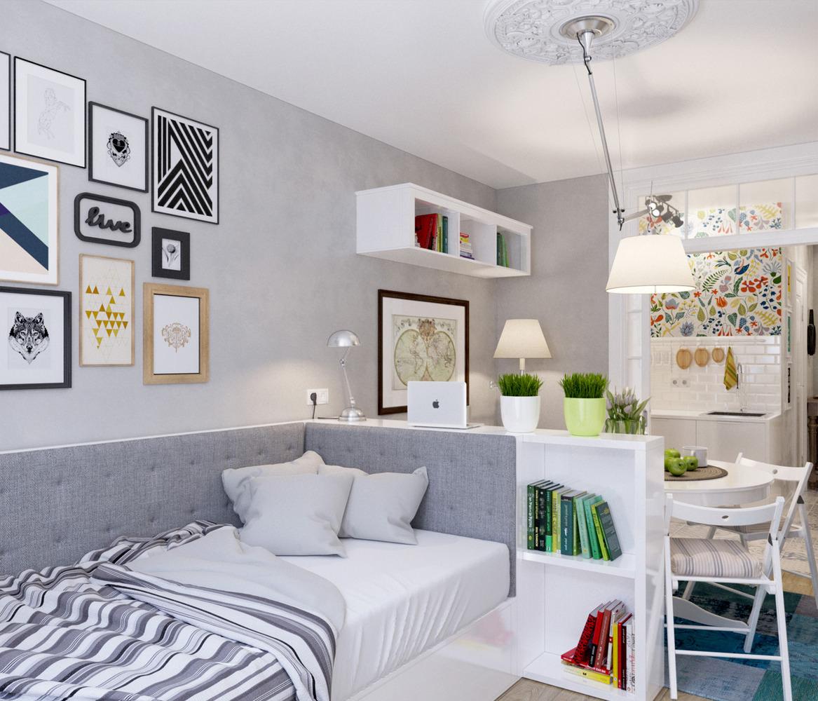 Дизайн маленьких квартир-студий