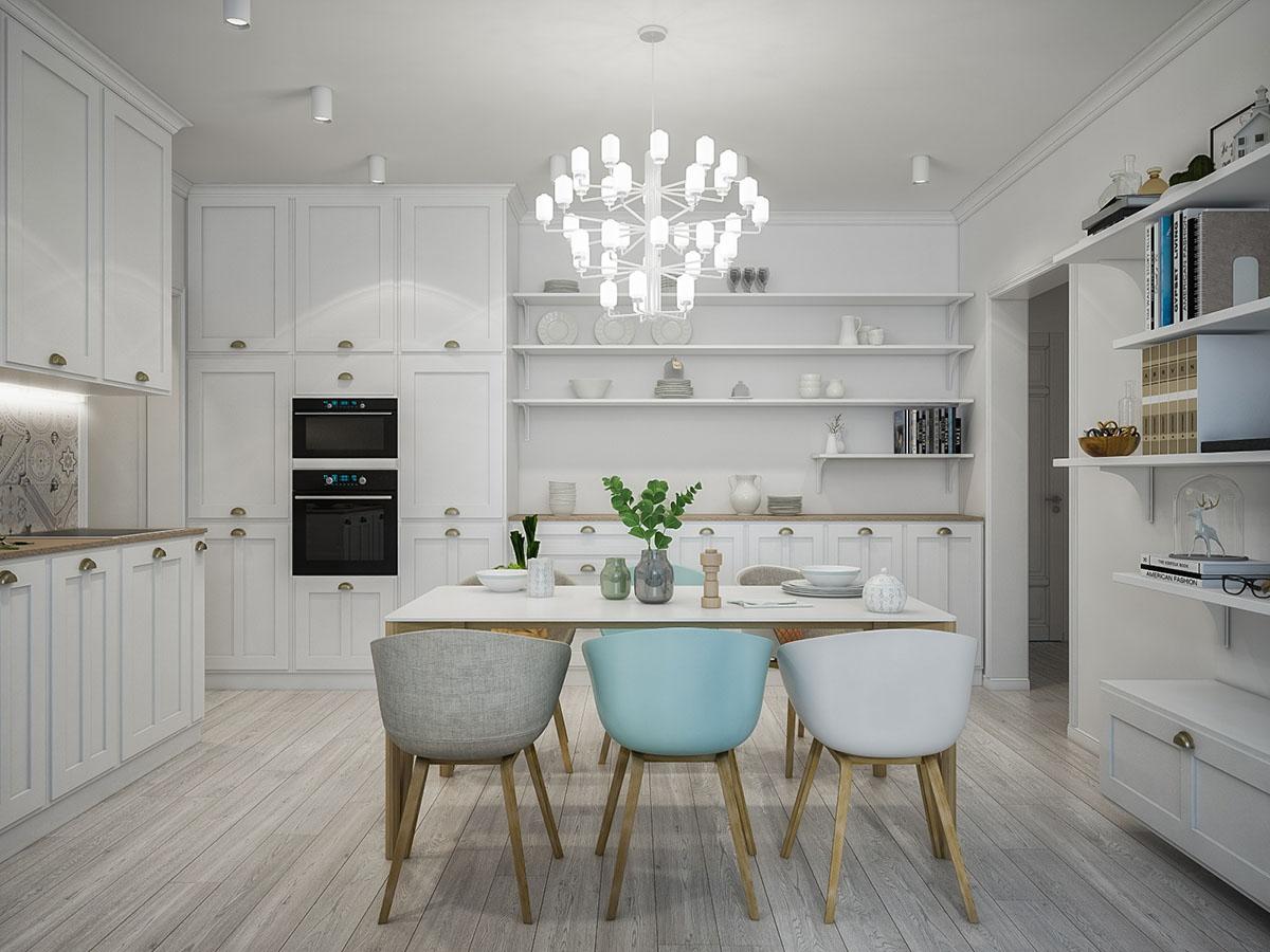 Дизайн квартиры в светлых тонах - создаем вместе
