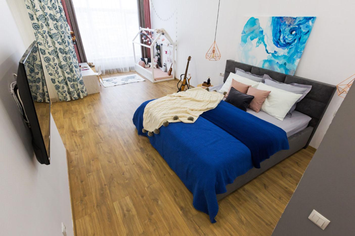Как сделать дизайн однокомнатной квартиры с детской зоной